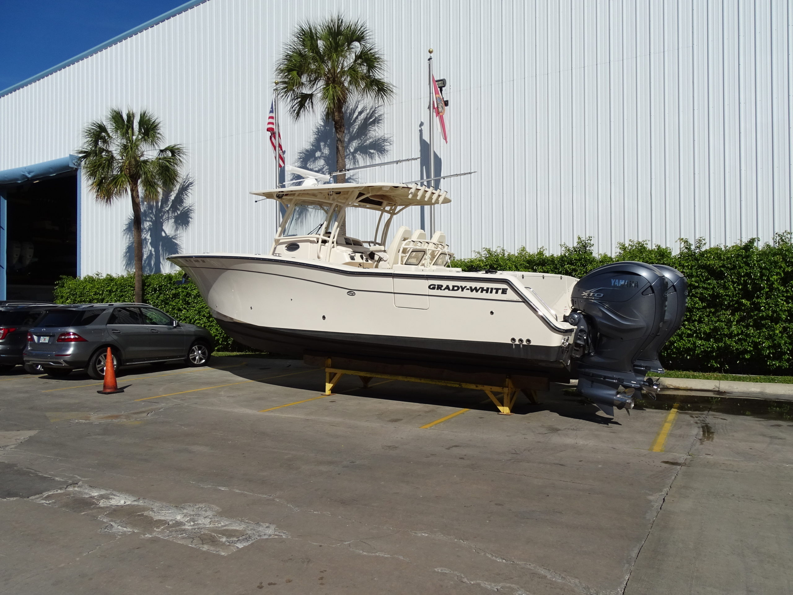 336 Grady White with twin 425 XTOs for sale
